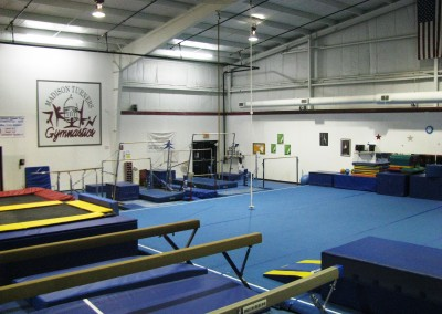 Gymnastics Floor (Wide Shot)