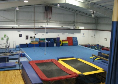 Gymnastics Area Overview