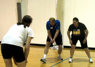 Maureen Nancie coach Rod